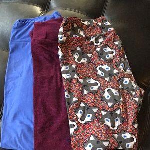 3 for $30 LuLaRoe leggings